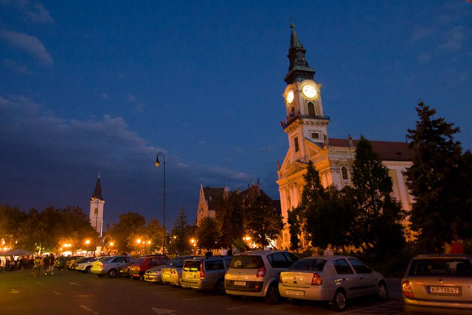 Naar Macedonie: Vliegen, Boedapest en Kecskemét