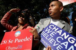 Veel hispanics stemden voor Obama, het ligt niet voor de hand dat de Republikeinen onder hen veel stemmen kunnen winnen.