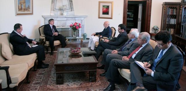 Rusland geeft militaire steun aan Afghanistan