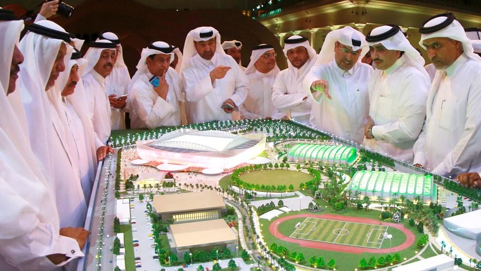 Schieten op Qatar, om FIFA te treffen