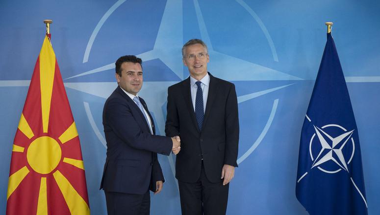 Nieuwe regering Macedonië wil snel bij NAVO