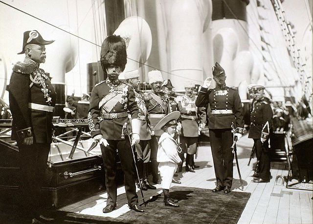 De heilige Nicolaas II in de Hermitage