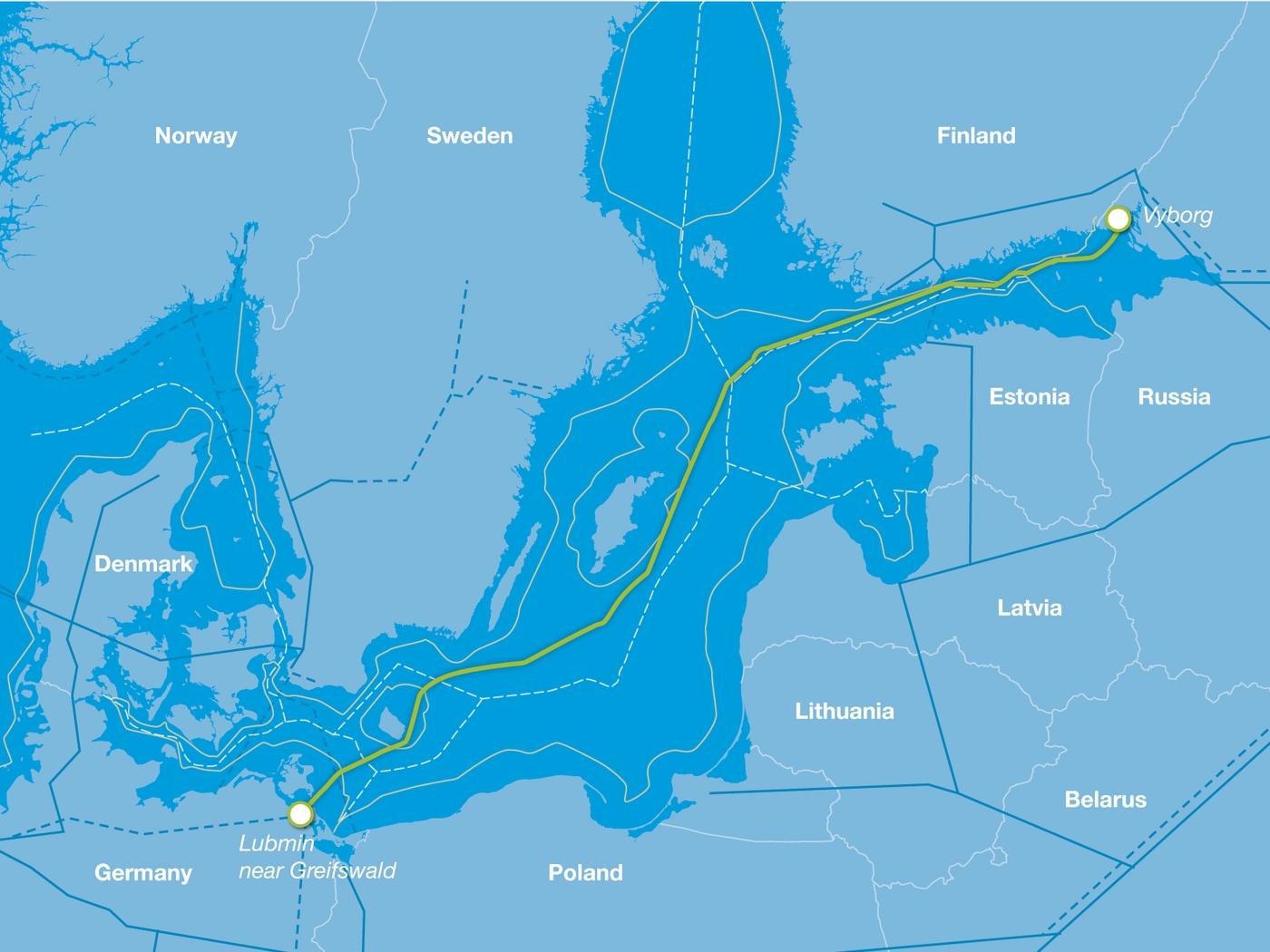 Finland keurt aanleg Nordstream 2 goed