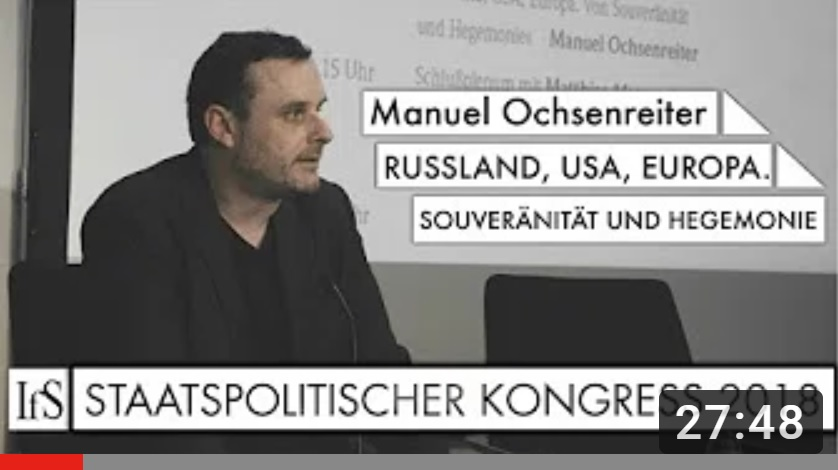 Hoe zou een soeverein buitenlandbeleid eruitzien? (video)