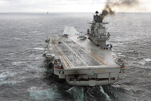 Tegenslagen treffen Russische marine