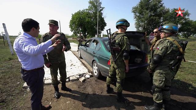 Een kijkje bij de Russische troepen in Transnistrië