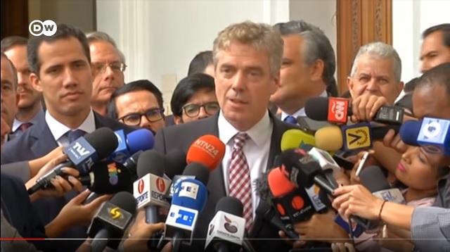 Uitwijzing Duitse ambassadeur door Venezuela geheel terecht