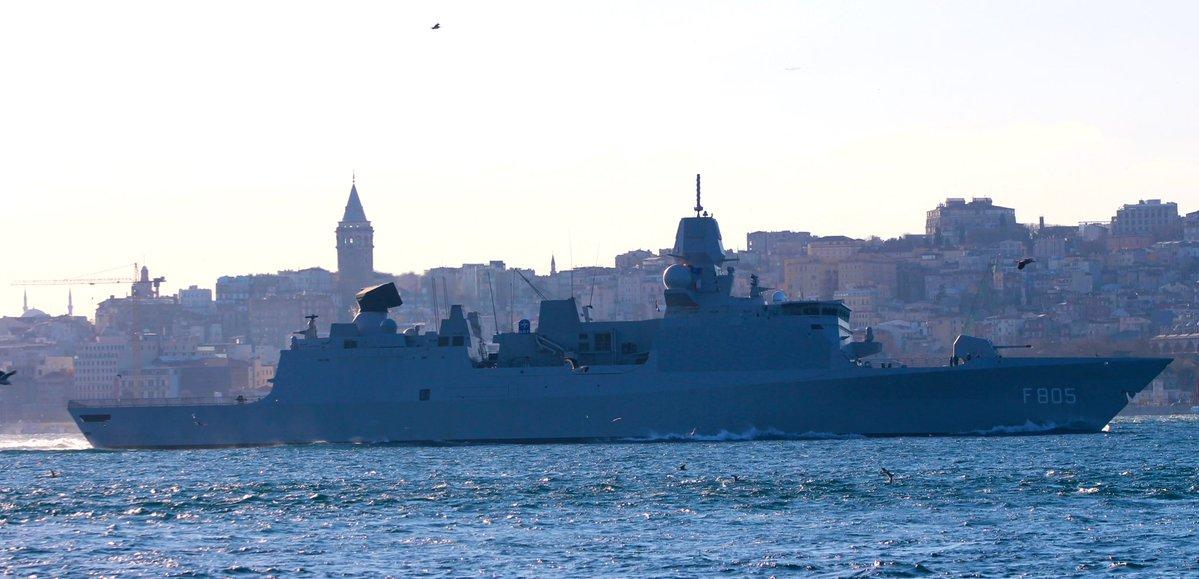 Opnieuw Nederlands fregat naar Zwarte Zee