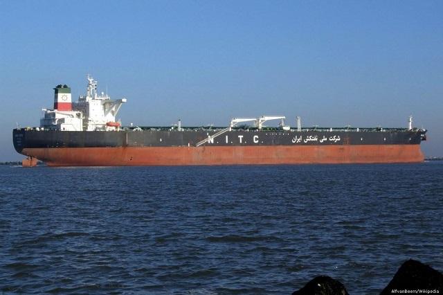 Lek in Mail on Sunday en beslag op Iraanse supertanker