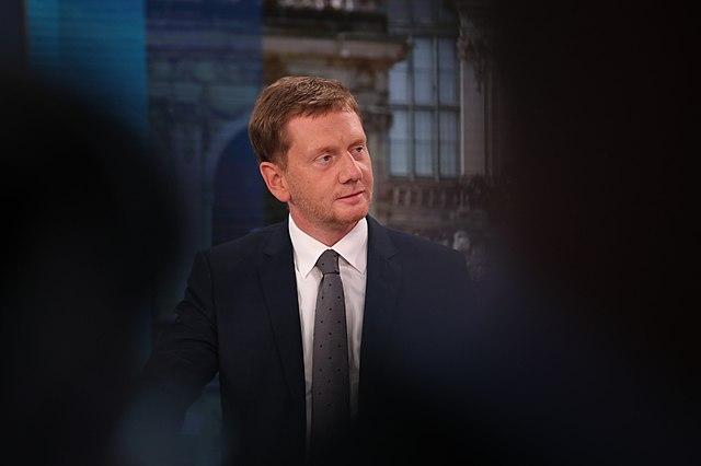 Michael Kretschmer (CDU), deelstaatpremier Saksen
