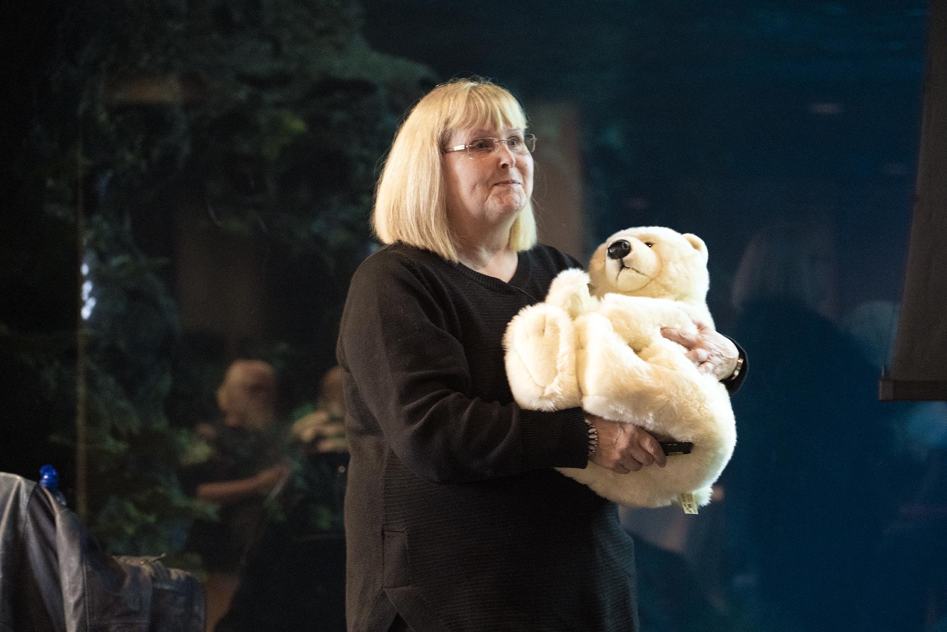 IJsberenlezing Susan Crockford in Blijdorp