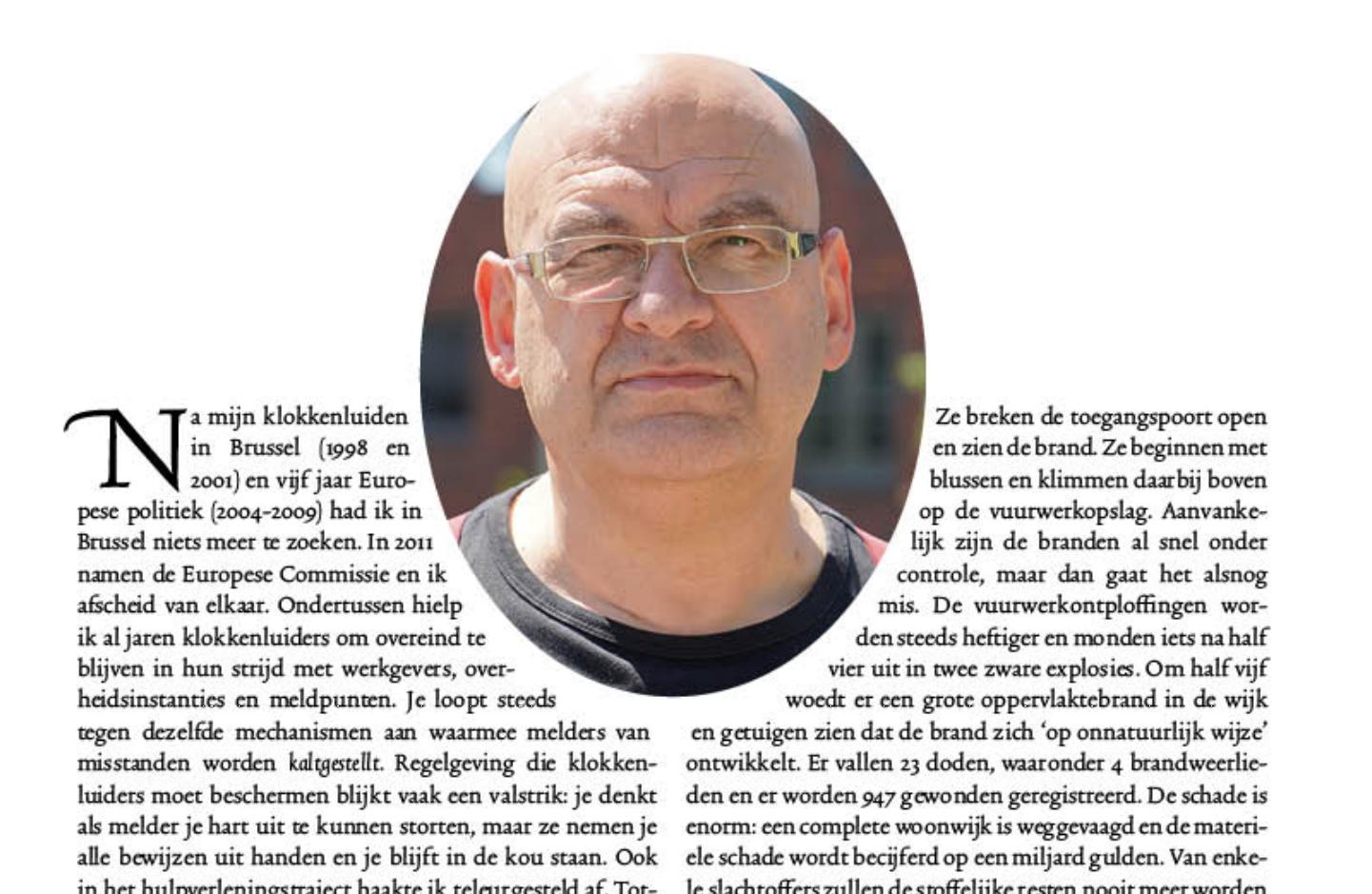 Paul van Buitenen: De maagdelijkheid van Erik Akerboom