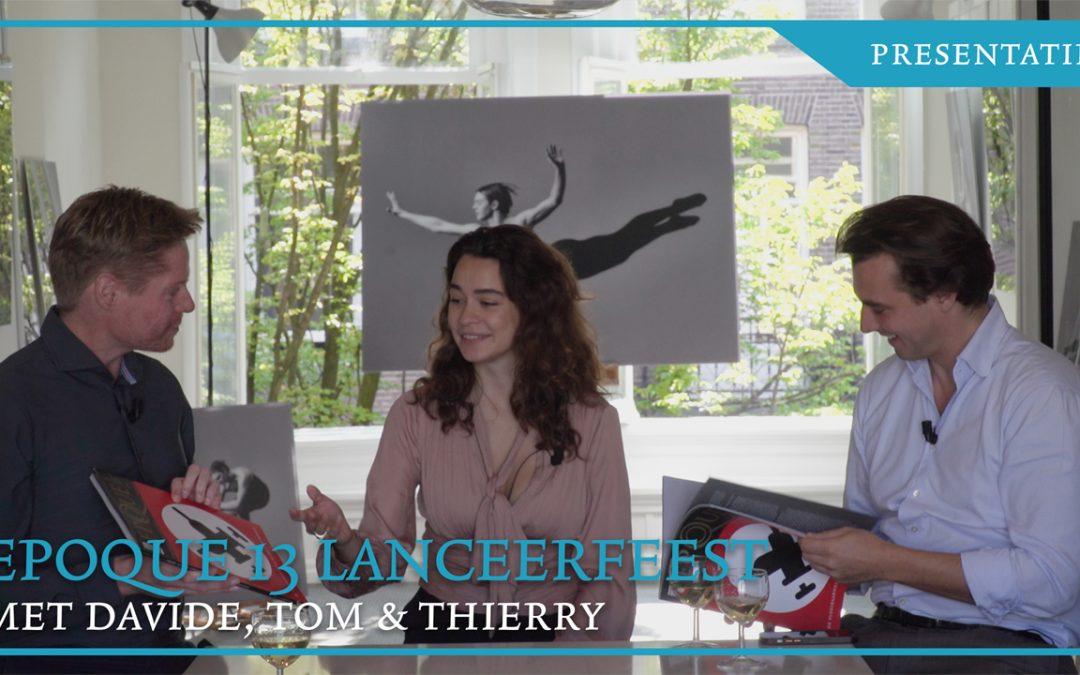 Lanceerfeest Epoque 13! Met Thierry Baudet, Davide Heijmans en Tom Zwitser